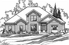 Main image for house plan # 3210