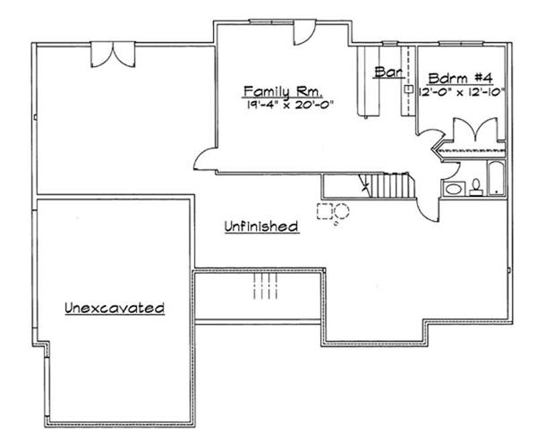 Basement Floor Plan