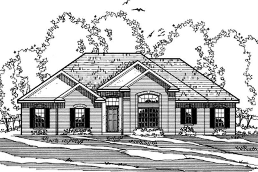 Main image for house plan # 3205