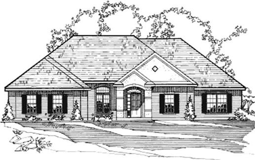 Main image for house plan # 3201