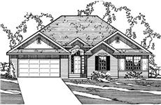 Main image for house plan # 3198