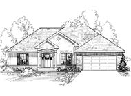 Main image for house plan # 3195
