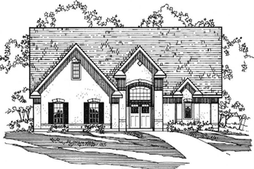 Main image for house plan # 3190
