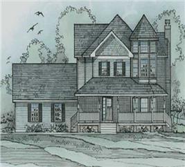 House Plan #172-1038
