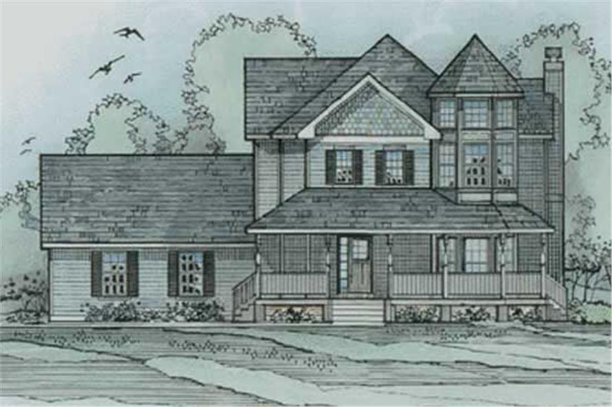Main image for house plan # 3206
