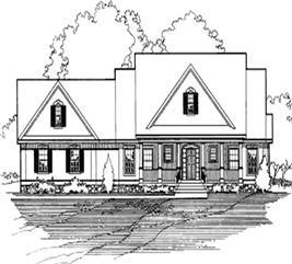 House Plan #172-1039
