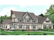 Main image for house plan # 17002
