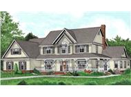Main image for house plan # 17003