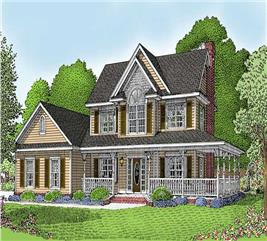 House Plan #173-1008