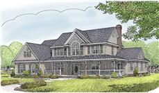 Main image for house plan # 16996