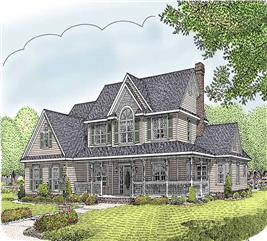 House Plan #173-1009