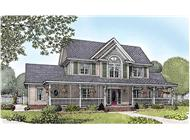 Main image for house plan # 16999