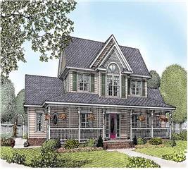 House Plan #173-1010