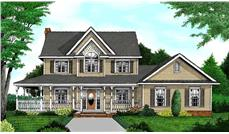 Main image for house plan # 16970