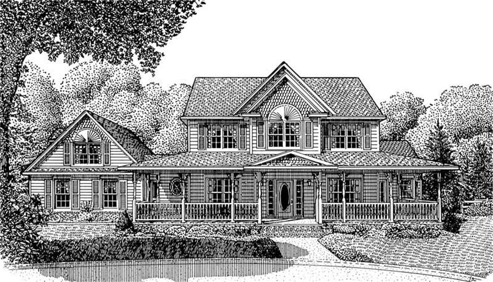 Main image for house plan # 3672