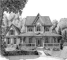 House Plan #173-1014