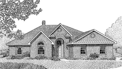 Main image for house plan # 3687