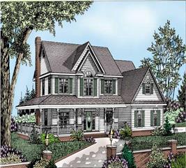House Plan #173-1019