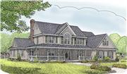View house Plan#173-1020