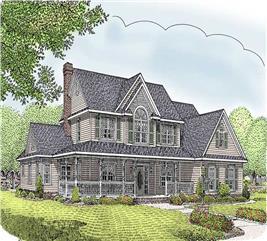 House Plan #173-1020