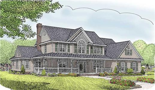 Main image for house plan # 5949