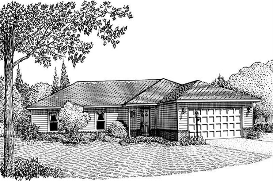 Main image for house plan # 3675