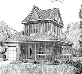 House Plan #173-1028