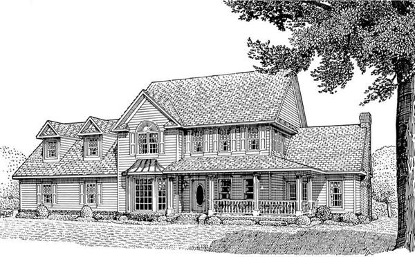 Main image for house plan # 3670