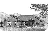 Main image for house plan # 3669