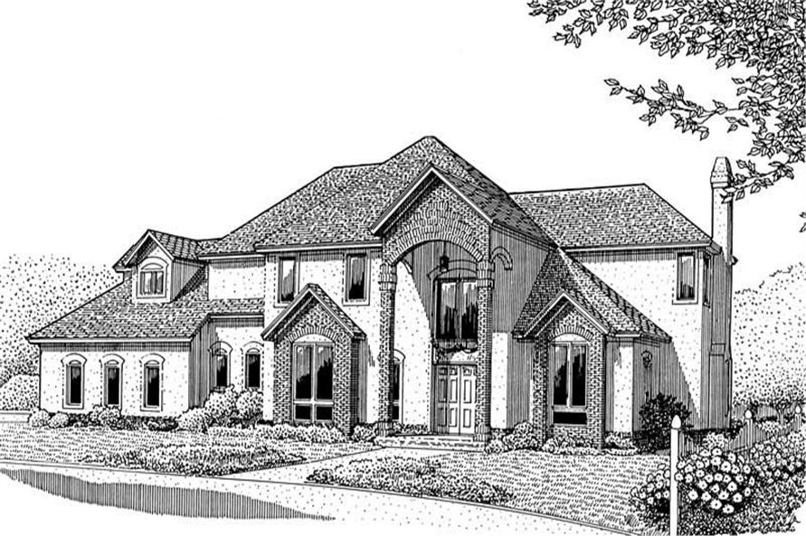 Main image for house plan # 3668