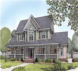 House Plan #173-1033
