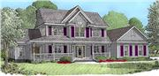 View house Plan#173-1036