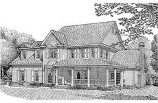 Main image for house plan # 3663