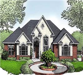 House Plan #173-1040