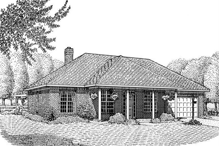 Main image for house plan # 3676