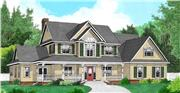 View house Plan#173-1055