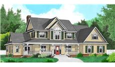 Main image for house plan # 16978