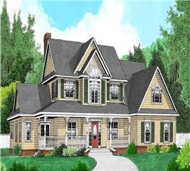 House Plan #173-1055