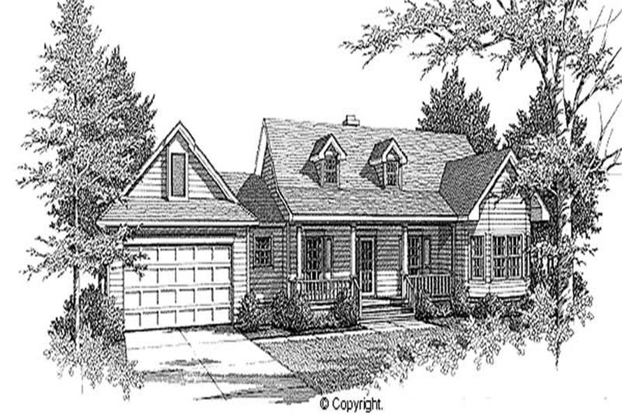 Main image for house plan # 11214