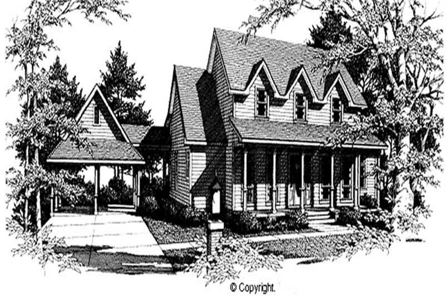 Main image for house plan # 11277