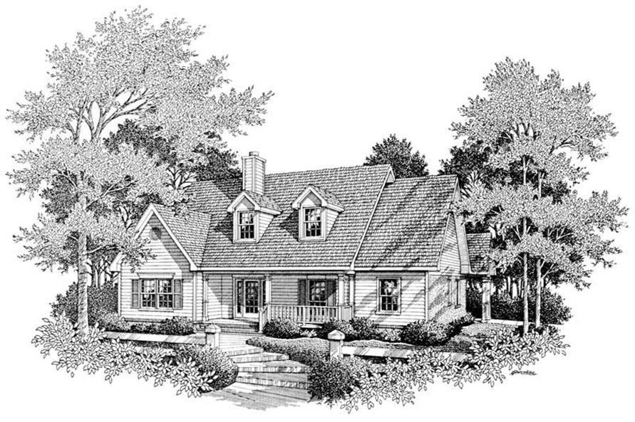 Main image for house plan # 11280