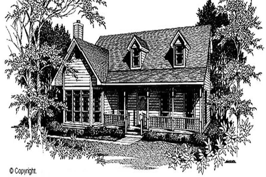 Main image for house plan # 11283