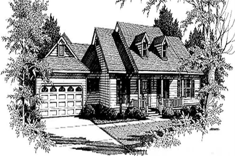 Main image for house plan # 11278
