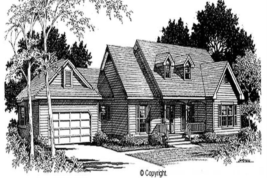 Main image for house plan # 11276