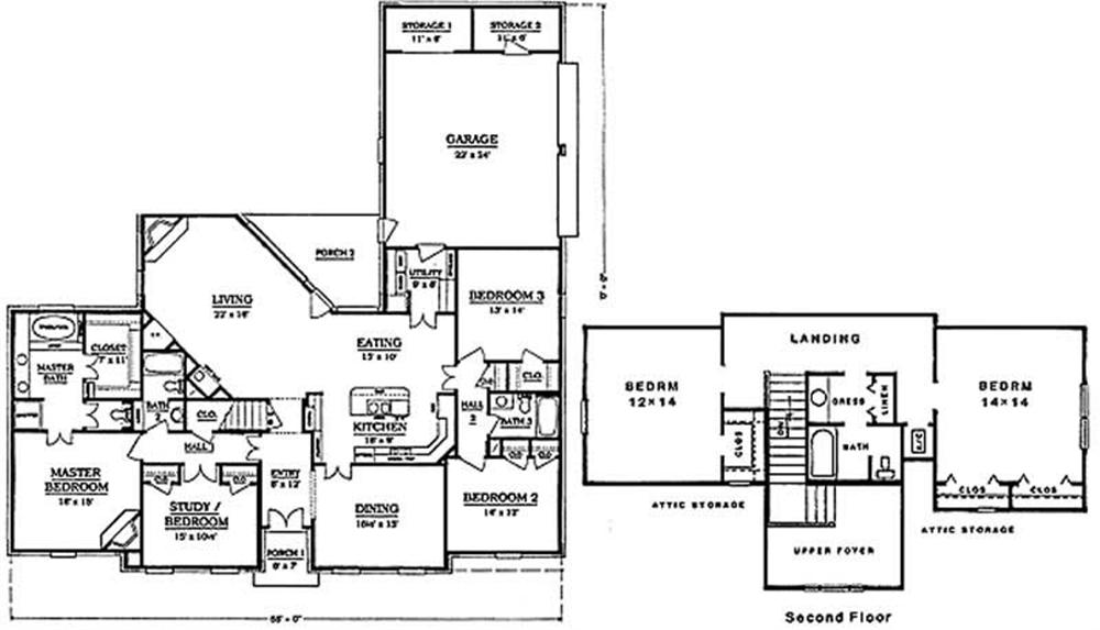 Large Images For House Plan 174 1009