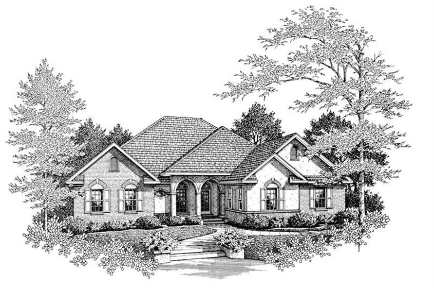 Main image for house plan # 11272