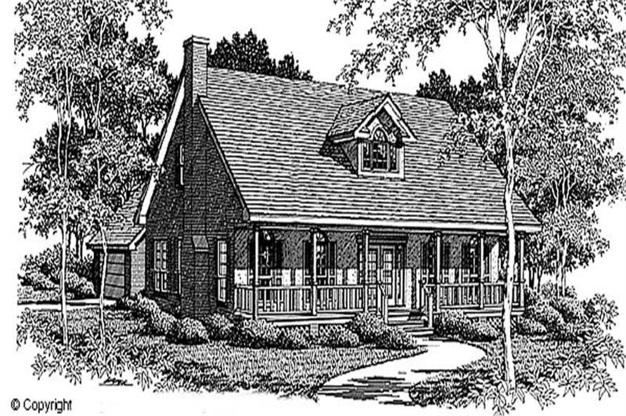 Main image for house plan # 11271