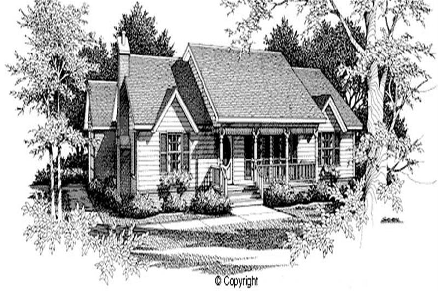 Main image for house plan # 11212