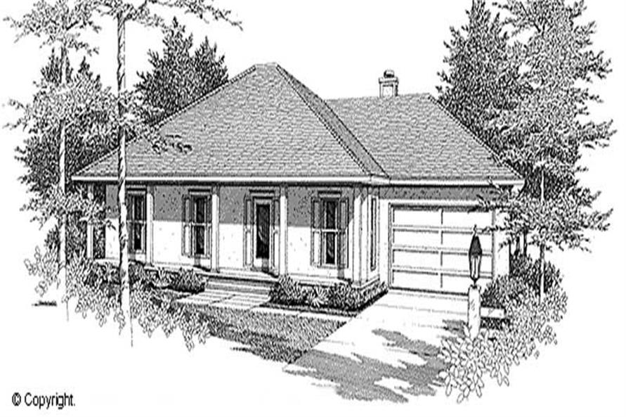 Main image for house plan # 11232