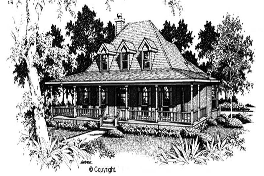 Main image for House Plan # 174-1030